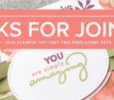 Be Part of a wonderful group of stampers!