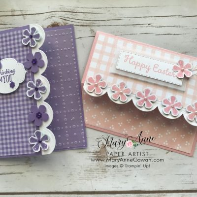 Pretty Scalloped Cards
