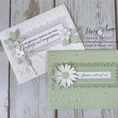 Pretty Pastel Ornate Garden Cards