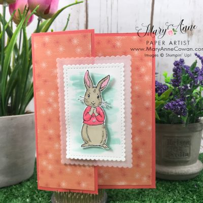 Fable Friends Peter Rabbit Card