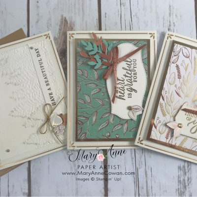 Gilded Autumn Suite from Stampin' Up