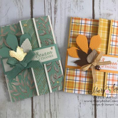 Beautiful Fall Fun Fold Cards