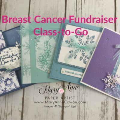 Annual Breast Cancer Fundraising Class-to-Go