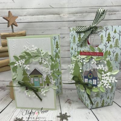 Cute Christmas Card & Treat Holder
