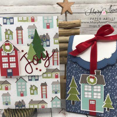 Christmas Card Card & Treat Bag
