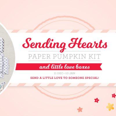 Sending Love Paper Pumpkin Kit- Order Before January 10th!