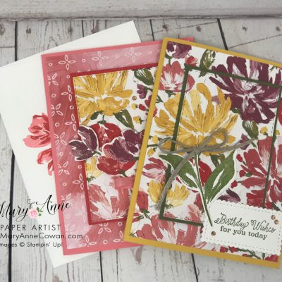 Fine Art Floral Layered Cards & More