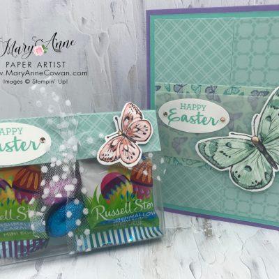 Springtime Joy Card & Treat Holder