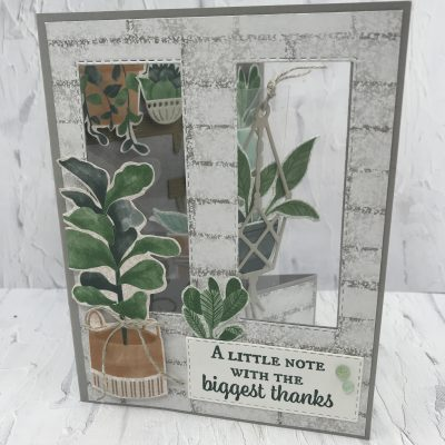 Bloom Where You're Planted Fun Fold