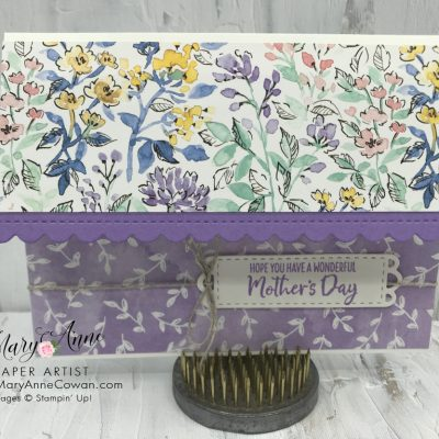 Pretty in Purple ~ Hand-Penned Designer Series Paper