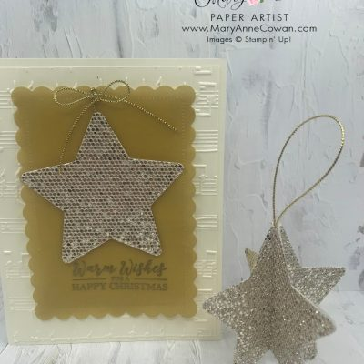 Tidings & Trimmings Cards- Stampin' Up