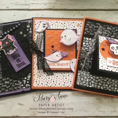Cute Halloween Adorable Cards- Stampin' Up